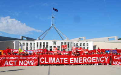 Media release: Call for strong action on transport to counter climate emergency