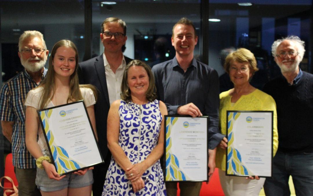 Media Release: ACT Environment Awards