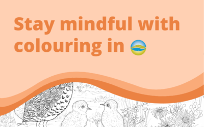 Stay mindful with colouring in